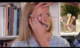Mature skin make up lesson