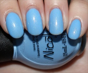 From the Modern Family Collection. See more swatches & my review here: http://www.swatchandlearn.com/nicole-by-opi-stand-by-your-manny-swatches-review/