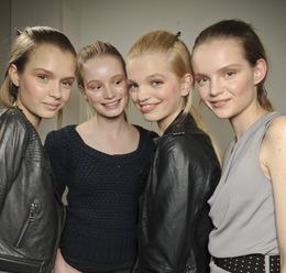 Milan Fashion Week, Fall 2011: Redken at Prada