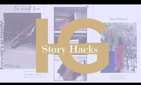7 Quick & Easy Instagarm Story Hacks