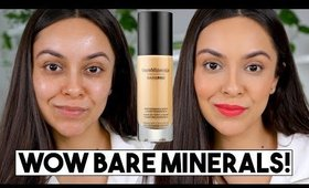 BAREMINERALS BARE PRO FOUNDATION REVIEW! Did I just find my new fave?! - TrinaDuhra