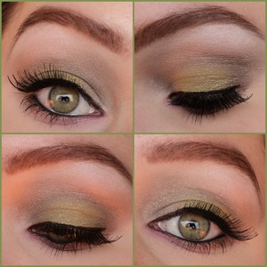 A look I created with some ELF producted that I got sent for my blog. Please follow me on instagram for more looks: http://instagram.com/makeupbyeline