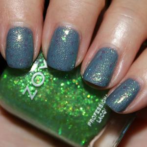 Zoya Skylar with Opal Fleck Effect