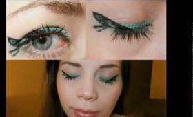 Katniss Everdeen Butterfly Makeup, The Hunger Games Inspired Look