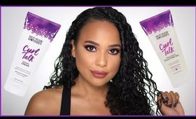 Not Your Mother's One Brand Curly Hair Routine | 3B hair | Ashley Bond Beauty
