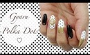 Gyaru Nails| Oxblood & Polka Dots ♡