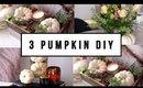 3 EASY PUMPKIN FALL HOME DECOR DIYS | ANN LE