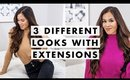 1 girl, 3 looks: How to TRANSFORM Your Hair with Extensions | Luxy Hair