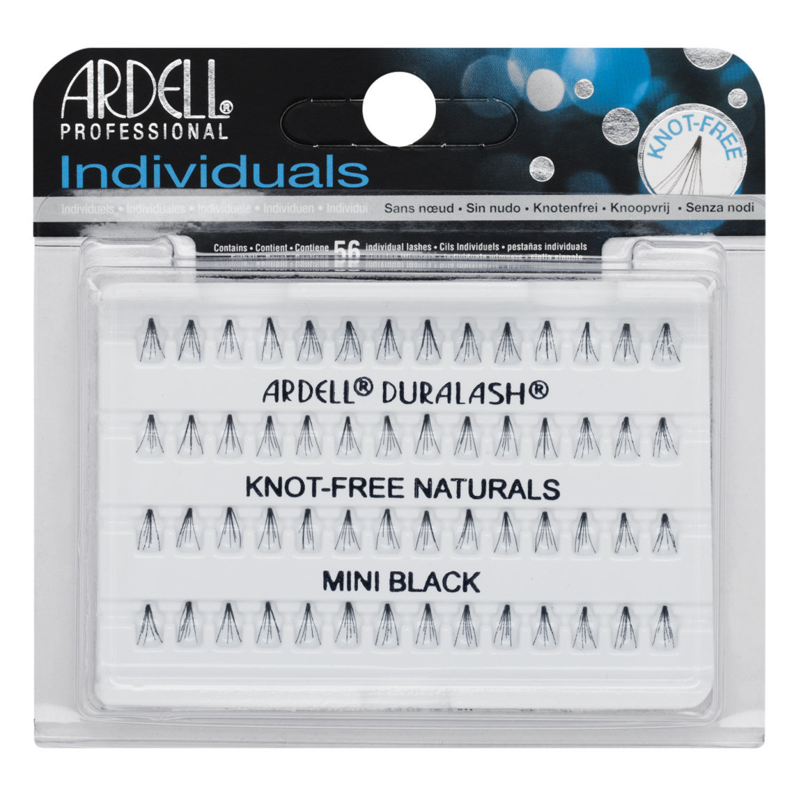 Ardell Individuals Knot-Free Natural Lashes Mini Black