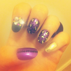 My girly design for my favorite football team AND SUPER BOWL CHAMPS..the Baltimore Ravens!