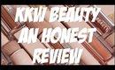 KKW BEAUTY - AN HONEST REVIEW