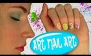 Art Nail Art! Nail Tutorial for 5 Easy Nail Art Designs. No Nail Art Tools Needed!