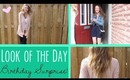 Look of the Day! Outfit, Makeup, Hair & SURPRISE vlog!