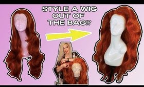 Style a Wig out of the Bag | Drag Queen Wig | Shop Will Beauty