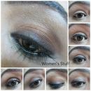 Layered Brown Eye Makeup