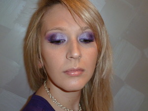 Picture from my Purple Smokey Eyes tutorial