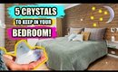 5 CRYSTALS YOU SHOULD KEEP IN YOUR BEDROOM │ Attract LOVE, MONEY & RAISE YOUR VIBRATION WHILE ASLEEP