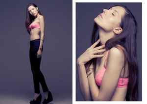 tatjana with MUSE NY photographer marcus hyde hair + makeup kelley farlow