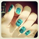 Tribal and Teal