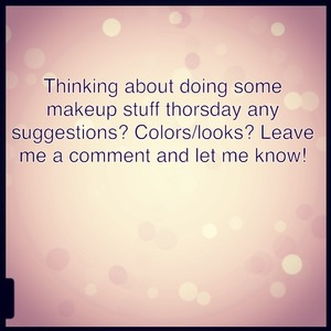 Leave a comment and let me know! Also you can go to Facebook.com/makeuppbyLC :)