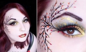 Fall Fairy Makeup Tutorial