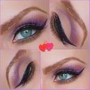 Valentine's Make Up - Closeup