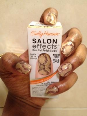 Sally Hansen BrattleSnake, Salon Effects!!!...Love it!