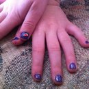Purple spring child's