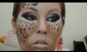 Halloween Makeup Tutorial: Leopard/Cheetah