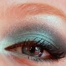 Tiffany Blue Smokey Eye !