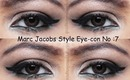 MARC JACOBS BEAUTY  Style Eye-Con No.7 - Plush Shadow Review and Tutorial