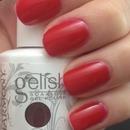 Gelish Red Roses