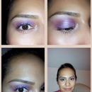 Soft plum smokey eye