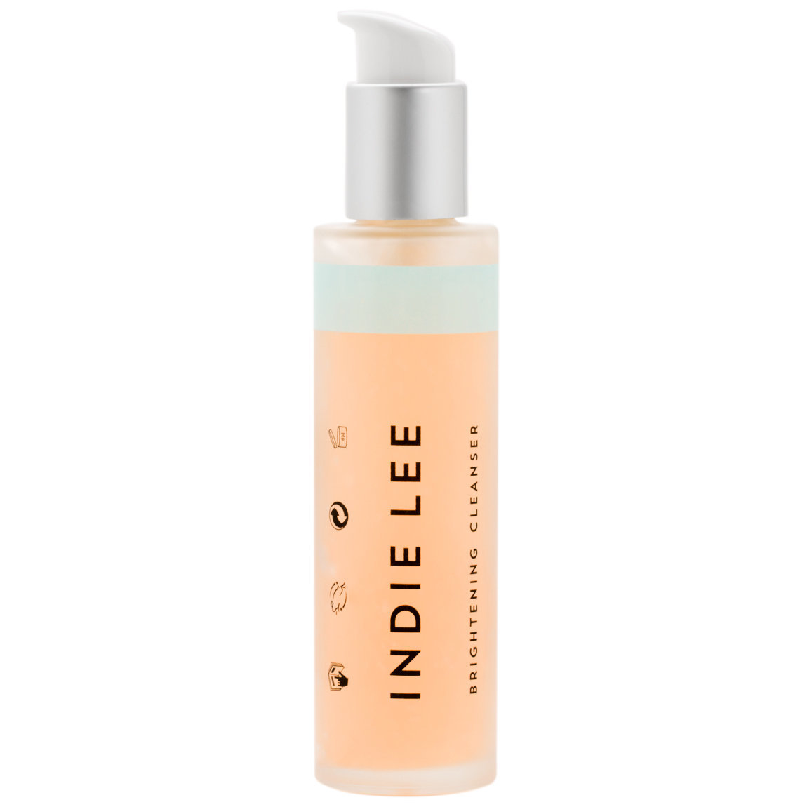 Indie Lee Brightening Cleanser 125 ml product smear.