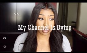 GRWM: My channel is dying | James Charles is a sicko | The Black Community is failing