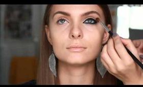 Feline Fatale - dramatic cat eye makeup tutorial