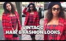 Vintage Hair & Fashion Looks