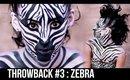 THROWBACK Series: Zebra | 3rd Tutorial Ever | Courtney Little