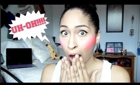 Tip Tuesday: Too Much Blush!!! (Quick Fix)