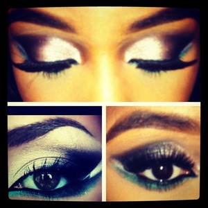 Eye makeup that I wanted to try, so I did! What do you think?