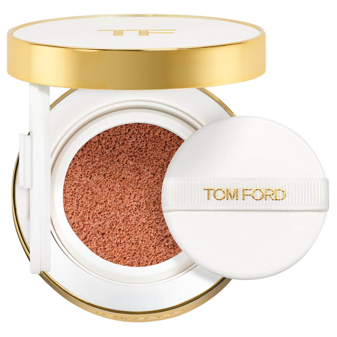 TOM FORD Soleil Glow Tone Up Foundation Hydrating Cushion Compact 3 Peach Glow Tone Up alternative view 1.