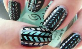 TUTORIAL: Two Tribal Nail Designs!