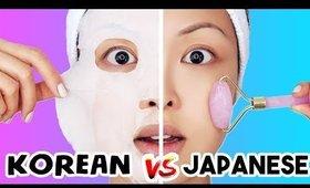 Korean VS Japanese Skincare (WHO WINS?)
