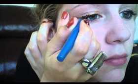 Cheetah Week:Sexy eyeliner tutorial (wearable)