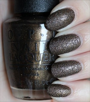 Liquid Sand from the OPI Disney's Oz the Great and Powerful Collection due out in March. See more swatches & my review here: http://www.swatchandlearn.com/opi-what-wizardry-is-this-swatches-review