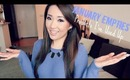 FIRST EMPTIES VIDEO! Products I've Used Up - January 2013 - hollyannaeree