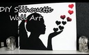 DIY Silhouette Wall Art