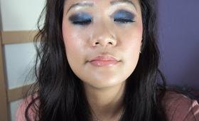 Electric Blue Makeup Tutorial