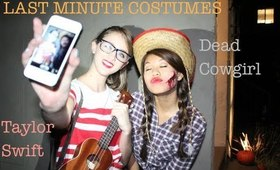LAST MINUTE Taylor Swift and Cowgirl Costumes!