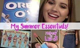 My Summer 2017 Essentials - June Favorites
